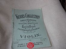 ANTIQUE MUSIC BOOKLET KERRS COLLECTION 9 VIOLIN HORNPIPES JIGS HIGHLAND REELS
